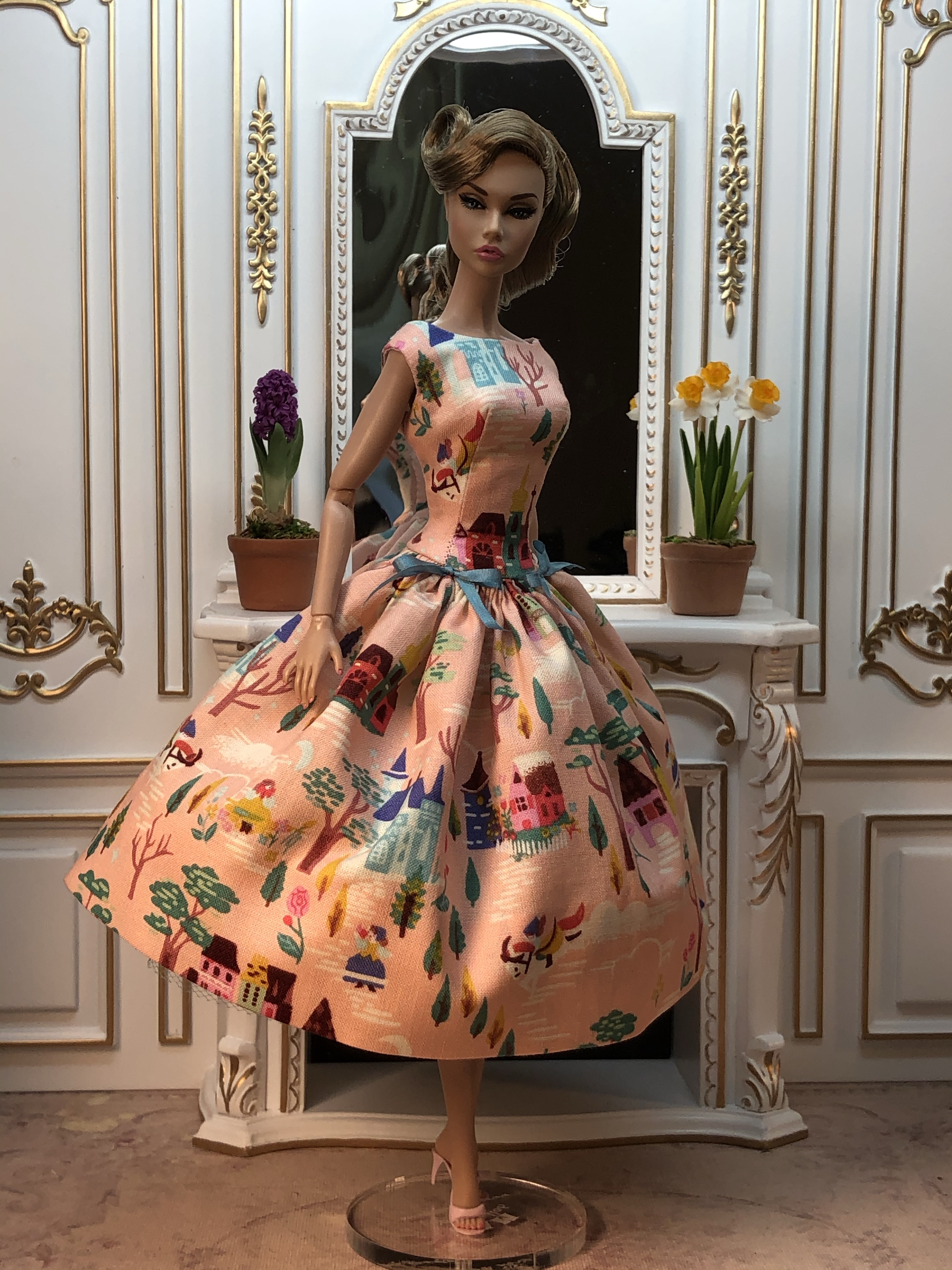 BARBIE FASHION PRETTY PASTELS PARTY DRESS  GORGEOUS SPECIAL OFFER +MORE!